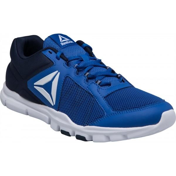Reebok YOURFLEX TRAIN 9.0 modrá 6.5 - Pánska tréningová obuv