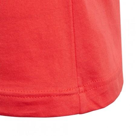 Girls' T-shirt - adidas YG LINEAR TEE - 2