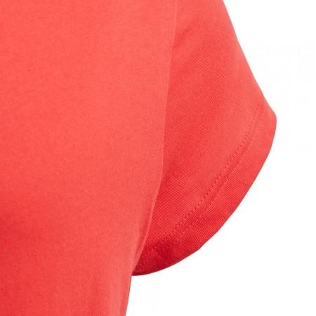 Dievčenské tričko - adidas YG LINEAR TEE - 4