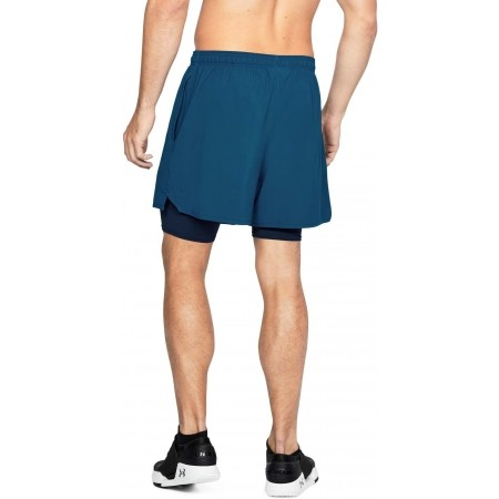 Trainingsshorts für Herren - Under Armour QUALIFIER 2-IN-1 SHORT - 9