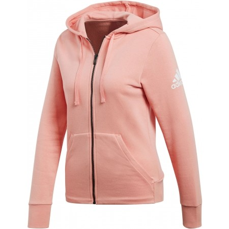 Women's sweatshirt - adidas ESSENTIALS SOLID FULLZIP HOODIE - 1