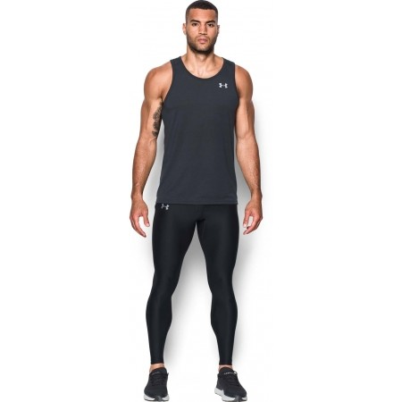 Pánske kompresné legíny - Under Armour RUN TRUE HEATGEAR TIGHT - 4