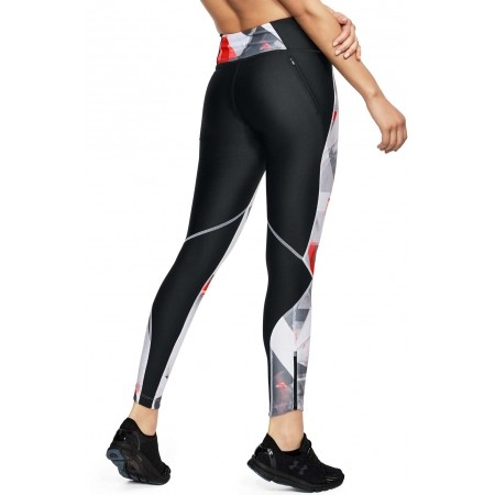 Legginsy kompresyjne damskie - Under Armour ARMOUR FLY FAST PRNTD TIGHT - 5