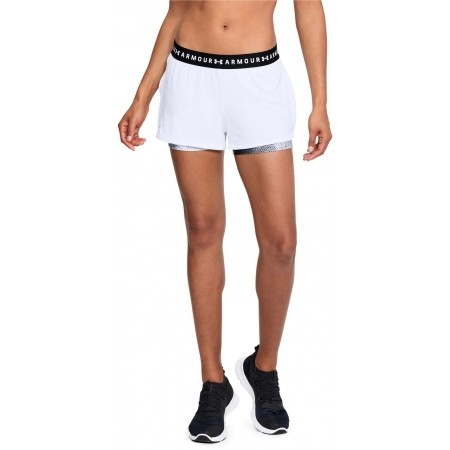 Damen Trainingsshorts - Under Armour HG ARMOUR 2-IN-1 PRINT SHORT - 4