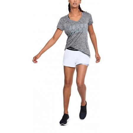 Damen Trainingsshorts - Under Armour HG ARMOUR 2-IN-1 PRINT SHORT - 3