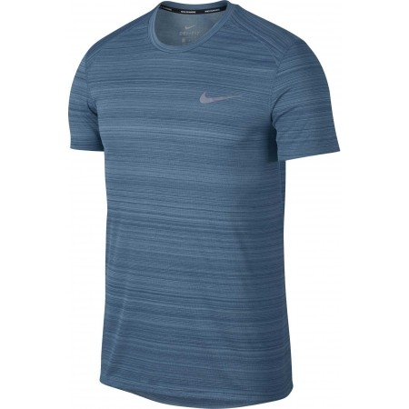 Herren Lauftop - Nike DRY MILER TOP SS NV - 1