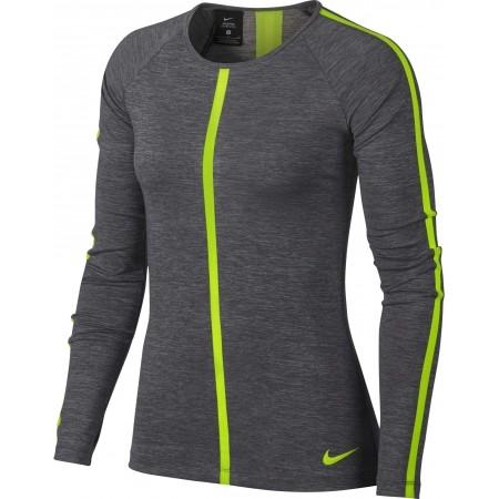 Damen Top - Nike HPRCL TOP LS HEATHER W - 3