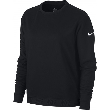 Damen Top für das Training - Nike DRY TOP LS CREWNECK W - 1