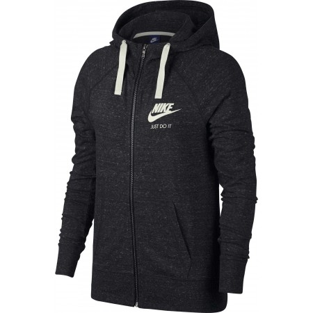 Bluza damska - Nike GYM VNTG HOODIE FZ W - 1