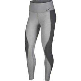 Nike PWR TGHT HI SLBD HTR - Damen Leggings