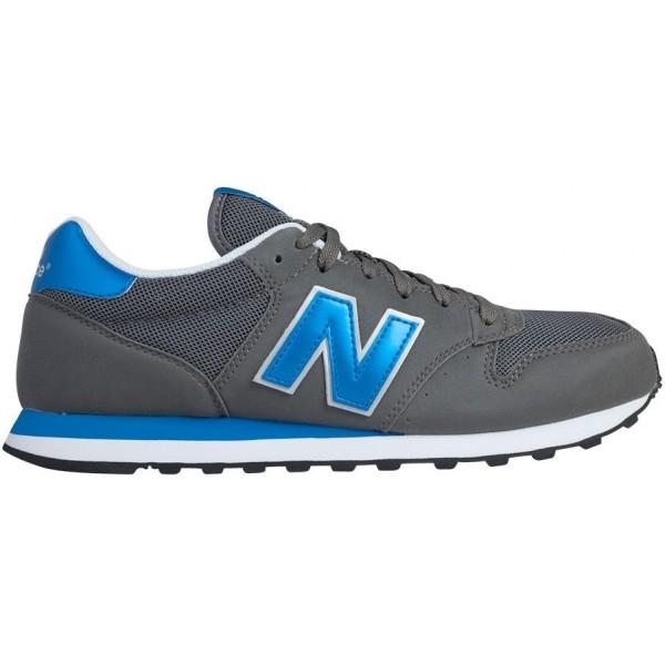 New Balance GM500KSR tmavě šedá 6.5 - Pánská volnočasová obuv