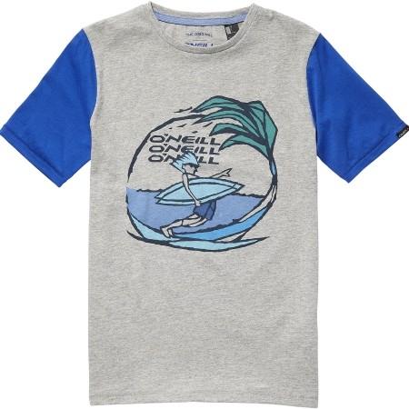 Chlapčenské tričko - O'Neill LB LAID BACK S/SLV T-SHIRT - 1