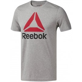 Reebok QQR-REEBOK STACKED - Men's sports T-shirt