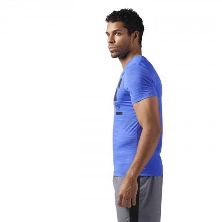 Men's sports T-shirt - Reebok WORKOUT READY ACTIVCHILL TECH TOP - 5