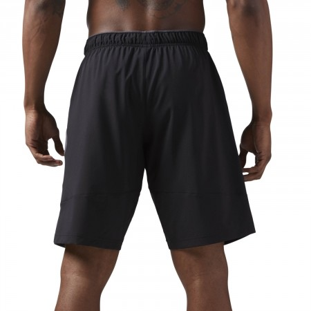 Men's shorts - Reebok WORKOUT READY WOVEN SHORT - 4