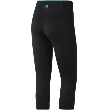 Women's sports pants - Reebok WOR PP CAPRI - 2