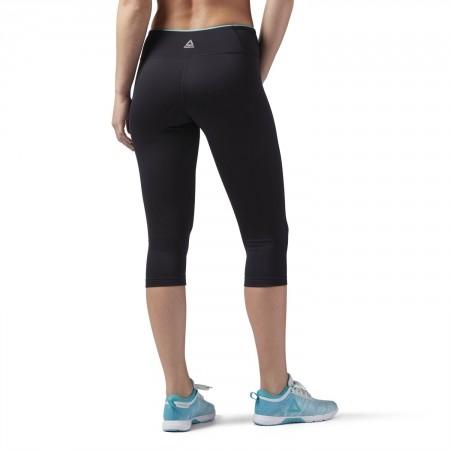 Women's sports pants - Reebok WOR PP CAPRI - 4