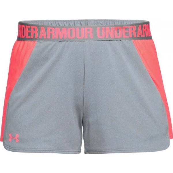 Under Armour PLAY UP SHORT šedá S - Dámské šortky