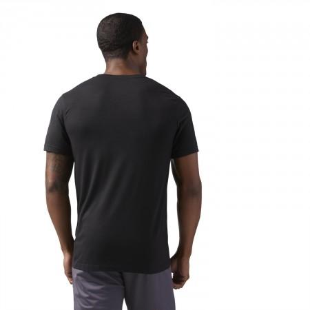 Tricou de bărbați - Reebok WORKOUT READY SUPREMIUM TEE - 4