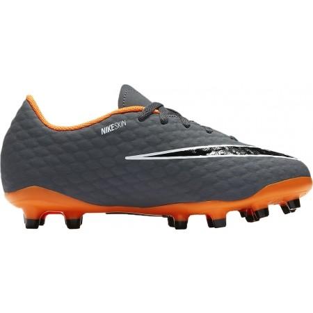 Obuwie piłkarskie dziecięce - Nike JR HYPERVENOM PHANTOM III ACADEMY FG - 1