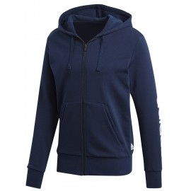 adidas ESSENTIALS LINEAR FULL-ZIP HOOD FRENCH TERRY - Men's sweatshirt