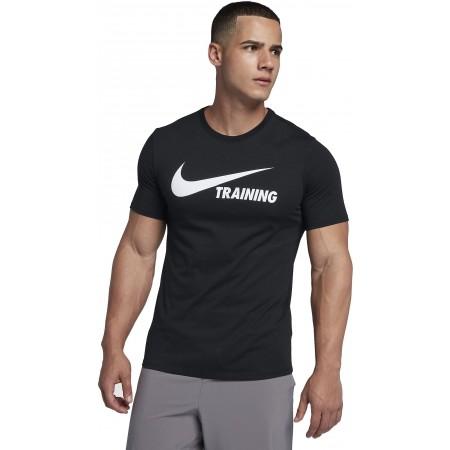 Herren Trikot - Nike TRAINING SWOOSH TEE - 1