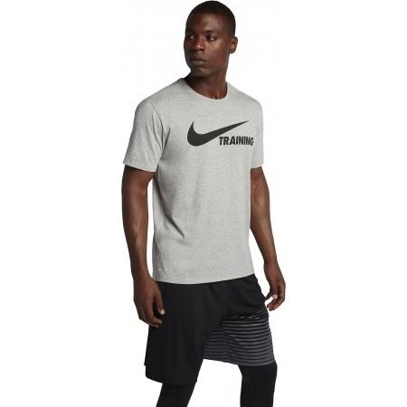 Koszulka męska - Nike TRAINING SWOOSH TEE - 1
