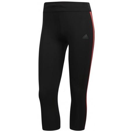 Дамски 3/4 клин за бягане - adidas RS 3/4 TIGHT W RE - 1