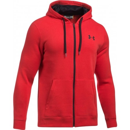 efec49af03a Pánská mikina - Under Armour RIVAL FITTED FULL ZIP - 1
