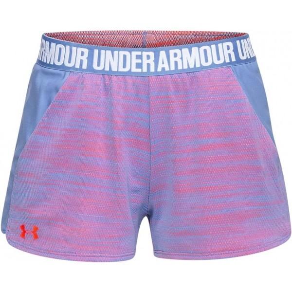 Under Armour PLAY UP SHORT 2.0 NOVELTY fialová M - Dámské šortky