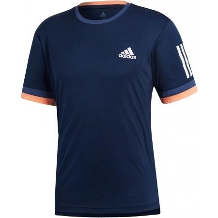 0e1c18a3dd83 Pánské tenisové tričko - adidas CLUB 3 STRIPES TEE - 1