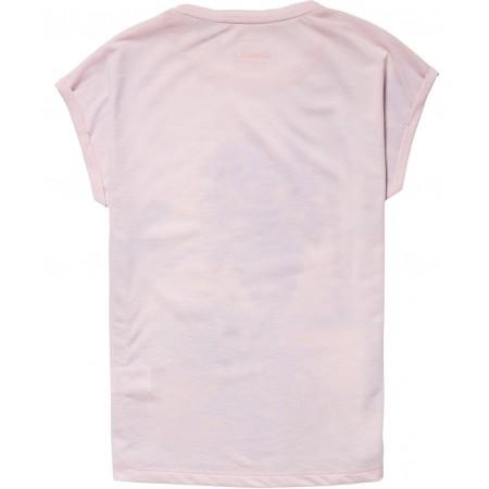 Dievčenské tričko - O'Neill LG FOTOPRINT S/SLV T-SHIRT - 2