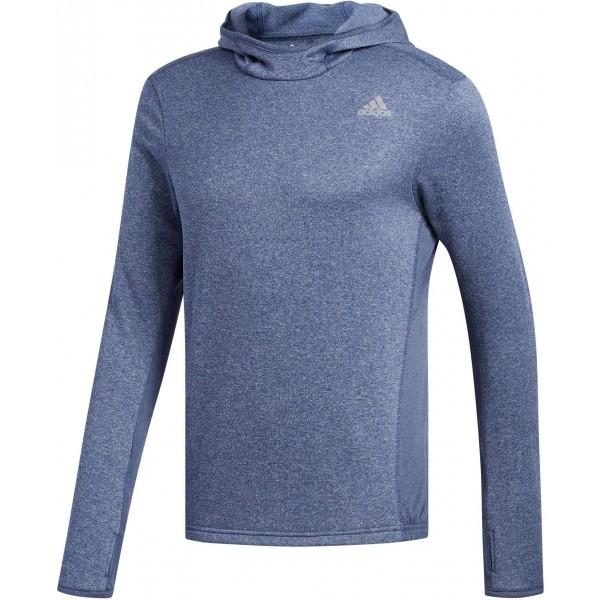 adidas RS HOODIE M modrá S - Pánské triko s kapucí