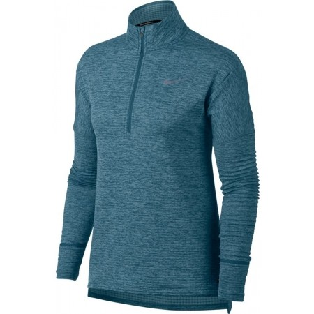 Koszulka do biegania damska - Nike THRMA SPHR ELMNT TOP HZ W - 1