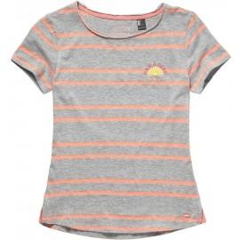 O'Neill LG STRIPEY SURF S/SLV T-SHIRT - Dievčenské tričko