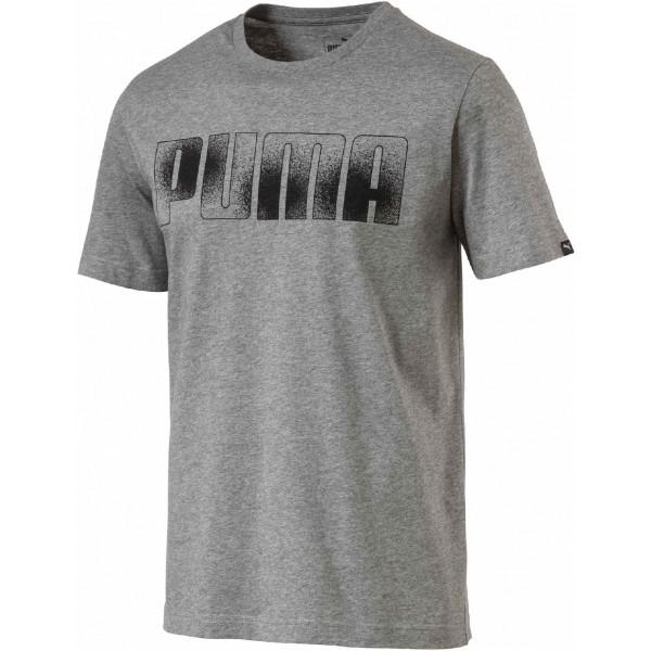 Puma BRAND TEE szary S - Koszulka męska