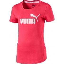Puma STYLE ESS LOGO TEE - Dívčí triko