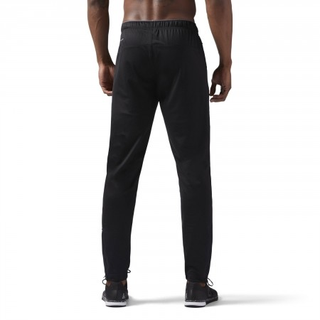 Men's sports trousers - Reebok WORKOUT READY STACKED LOGO TRACKSTER PANT - 4
