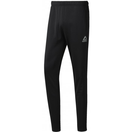 Men's sports trousers - Reebok WORKOUT READY STACKED LOGO TRACKSTER PANT - 1