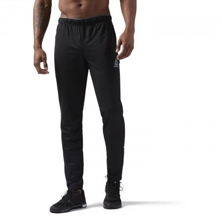 Men's sports trousers - Reebok WORKOUT READY STACKED LOGO TRACKSTER PANT - 3