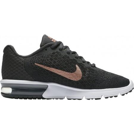 852465 013 Nike Air Max Sequent 2 Damen Laufschuhe Schwarz