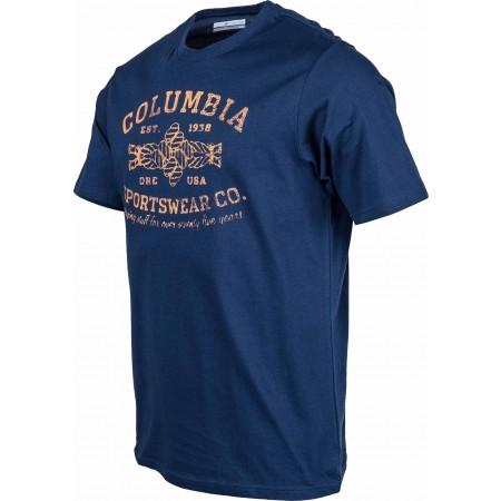 Pánské tričko - Columbia ROUGH N ROCKY SHORT SLEEVE TEE - 2