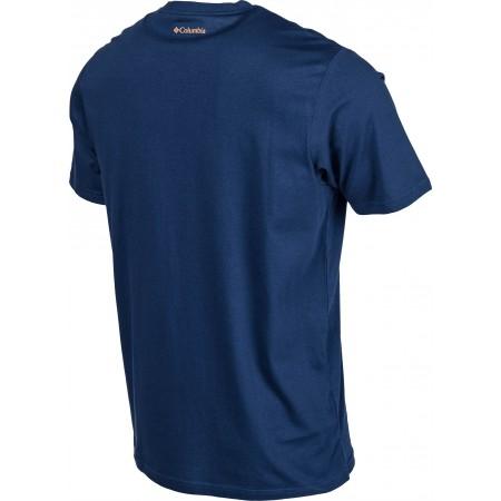 Pánské tričko - Columbia ROUGH N ROCKY SHORT SLEEVE TEE - 3