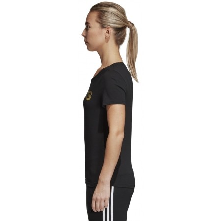 Women's T-shirt - adidas FOIL LINEAR - 4