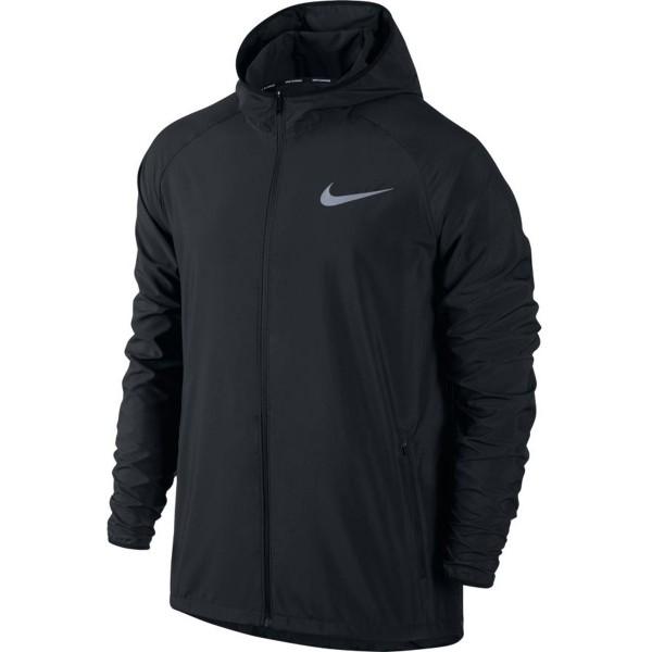 Nike ESSNTL JKT HD černá S - Pánská běžecká bunda