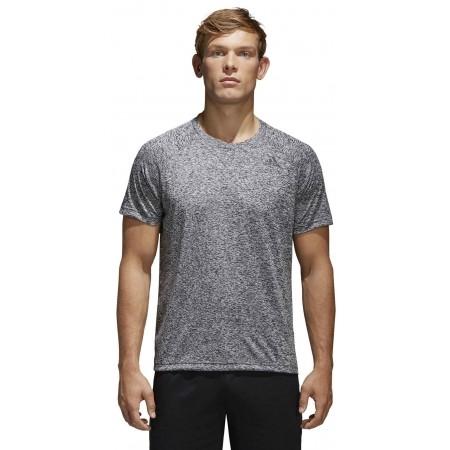 Men's T-shirt - adidas DESIGN TO MOVE TEE HEATHER - 3