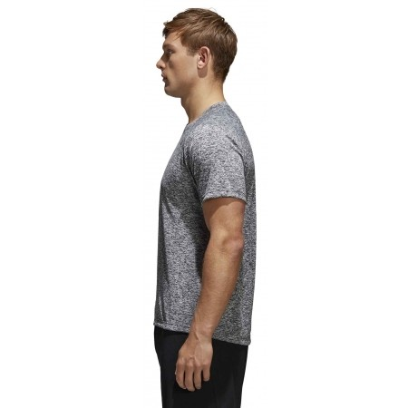 Men's T-shirt - adidas DESIGN TO MOVE TEE HEATHER - 5