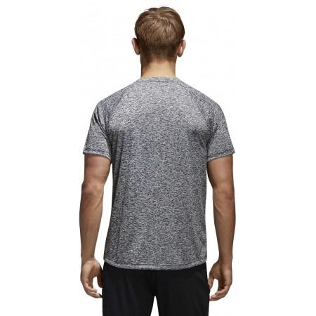 Men's T-shirt - adidas DESIGN TO MOVE TEE HEATHER - 4