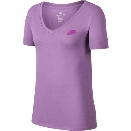 Koszulka damska - Nike TEE VNECK LBR W - 1