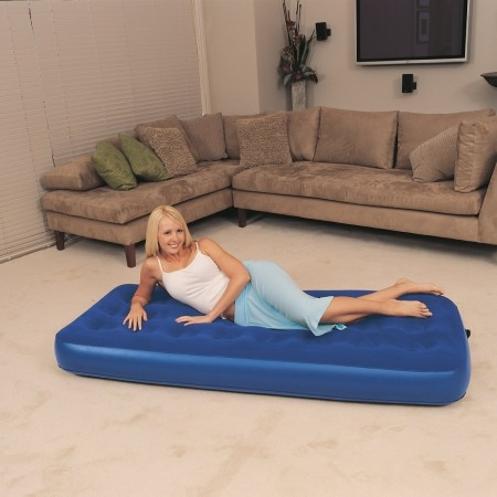 SINGLE FLOCKED - Inflatable mattress - Bestway SINGLE FLOCKED